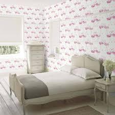 bedroom decor childrens wallpaper chandelier cute dressing table