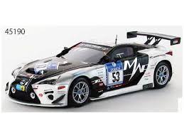 lexus lfa racing 1 43 lexus lfa code x nurburgring 24 hour race 2014 53 resin by