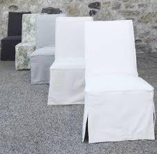 elsie green slipcovered dining chair