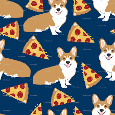 cute scarecrow wallpaper corgi pizza navy blue kids cute funny corgis dog dogs pet dog cute
