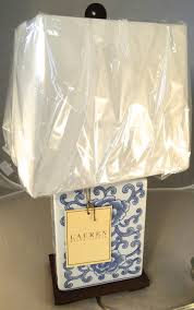 Ginger Jar Table Lamps by Ralph Lauren Mandarin Floral Mandarin Blue U0026 White Traditional
