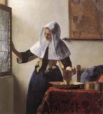 vermeer pearl necklace woman with a water jug johannes vermeer s influence and inspiration