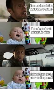 The Rock In Car Meme - the rock in car by chamaco canibal 5 meme center