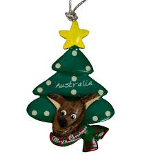 kangaroo tree ornament australia the gift souvenirs
