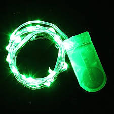 Led Strip Lights Battery Powered Battery Powered Green Led Lights With 16 Ft Halloween Costume Aa