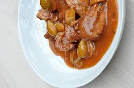 cuisine corse veau aux olives recette corse veau aux olives vertes à la mode corse
