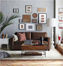 Decorating Ideas For Living Rooms With Brown Leather Furniture How To Decorate A Brown Sofa And Flooring Quora