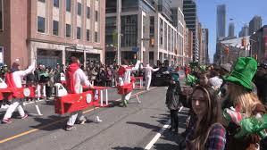toronto ontario canada march 2015 toronto st patrick day parade
