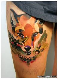 fox tattoo tattoo collections