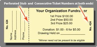 raffle tickets for sale custom raffle ticket printing