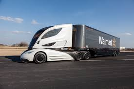 2014 volvo semi truck price walmart debuts futuristic truck