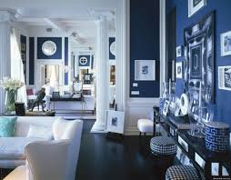 Venetian Home Decor by Other Design Inspiring Large Open Navy Blue Bedroom With White