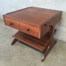 Accent Table With Drawer Furniture Rw Zoom Oak End Table With Magazine Rack Light Black