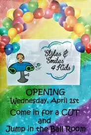 schedule a haircut at styles u0026 smiles 4 kids the motherhood scene