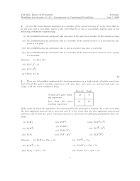 conditional probability worksheet free worksheets library