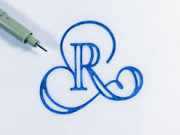 the letter r calligraphy fonts and creative lettering