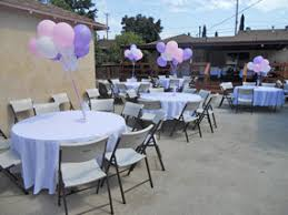 party rentals tables and chairs rentals tables chairs chafing dishes tablecloths linen prices and