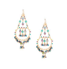 Handmade Seed Beaded Gold Plated Earrings Chandelier Earrings Gold Plated Page 1 Machu