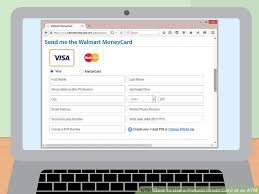 how to put a check on a prepaid card how to use a prepaid credit card at an atm 9 steps