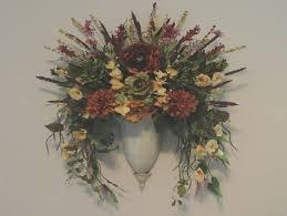 Flower Wall Sconces Ten Ideas To Organize Your Own Silk Flower Wall