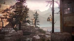 Destiny Maps Frontier Destiny Map Intro Youtube