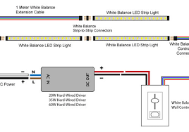 led strip light wiring diagram pdf wiring diagram and schematic