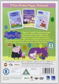 peppa pig bumper pack 12 disc vol 1 12 dvd amazon uk phil