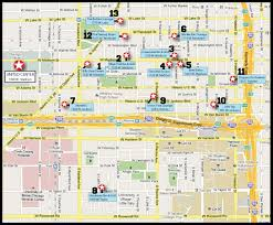 The Loop Chicago Map by Spots To Hit Before The United Center Gold Coast Tickets Blog