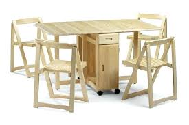 Folding Table With Chair Storage Stupendous Folding Table With Chairs Inside For Home Design