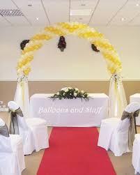 wedding arches glasgow 34 best wedding balloons images on wedding balloons