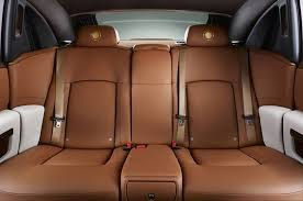 roll royce leather one off rolls royce ghost golden sunbird revealed