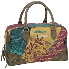 Desigual Home Decor by Desigual Women U0027s Rainbow Everyday Bag Red 26x50803089u Amazon Co