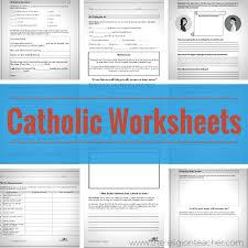 catholic worksheets the religion teacher catholic religious