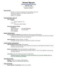 Resume For Walmart Sample Of Resume For Summer Job Articles Sample Resume Summer Job