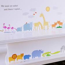 childrens safari wall stickers by kidscapes notonthehighstreet com childrens safari wall stickers