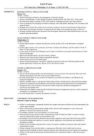 clinical manager resume clinical trials manager resume sles velvet