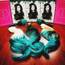 teal hair extensions jenner hair see the reality tv s new addition to