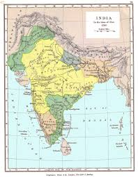 India Map With States by India Historical Maps