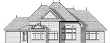 Drawing Of A House With Garage European Style House Plans Plan 7 938