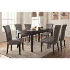 gray dining room table yes coaster gray dining chairs kitchen dining room