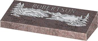 granite grave markers bevel grave markers gravestones and memorials quality memorial