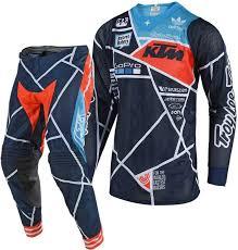 motocross gear 2018 troy lee designs metric a1 anaheim se air team ktm motocross