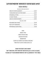579 benefit street restaurant u2014 the castiglioni restaurant group
