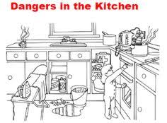 safety in the home worksheets kitchen google search adults