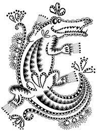 coloriage one piece crocodile