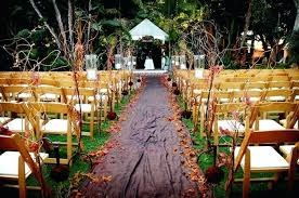 Decorations Outside Outside Wedding Decorations Chair And Table Outdoor Wedding
