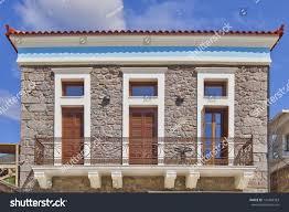neoclassical house facade stock photo 145468363 shutterstock