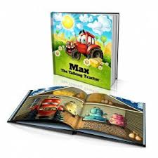 personalized story book the talking tractor
