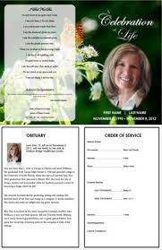 memorial program ideas memorial programs templates funeral templates memorial cards