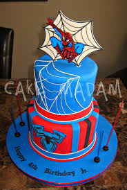 spiderman cake side view mary katherine flickr